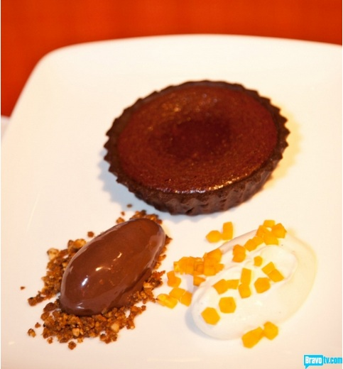 Chocolate torte - Antonia Lofaso - Top Chef Kitchen