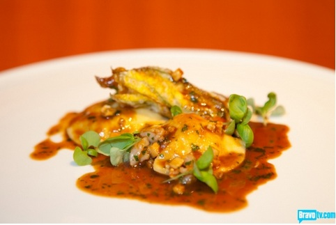 Lobster Ravioli Antonia Lofaso Top Chef Kitchen