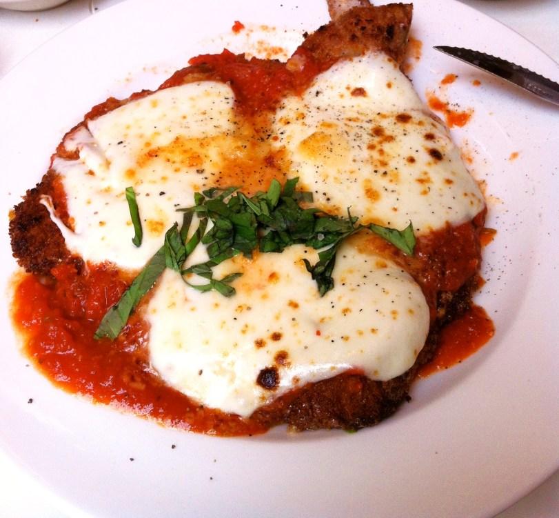 veal parmigiana becco