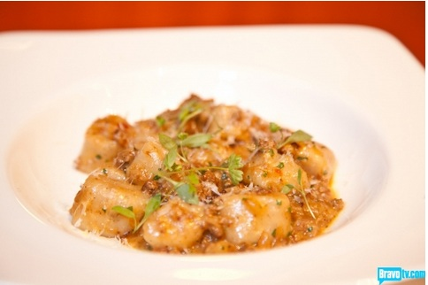 Gnocchi with Duck Sausage - Fabio Viviani - Top Chef Kitchen