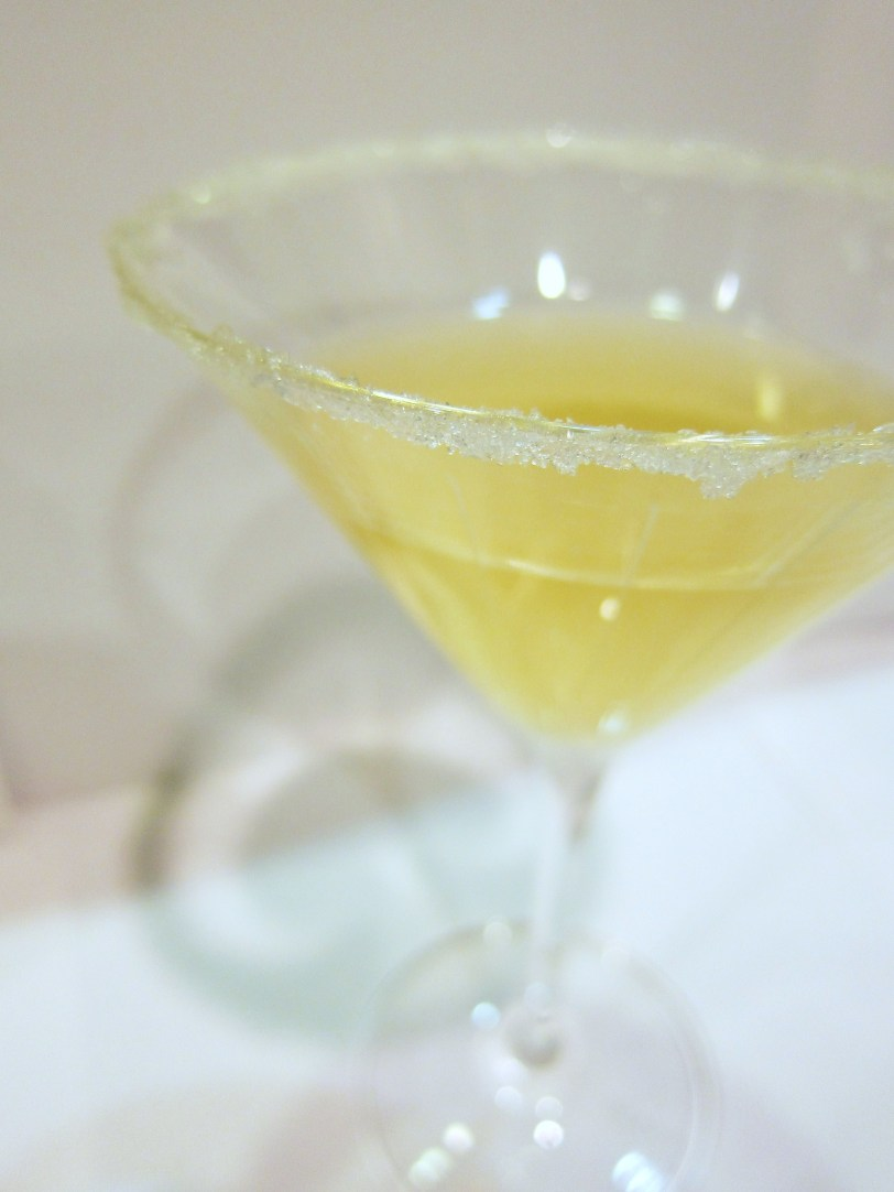 elderflower saketini