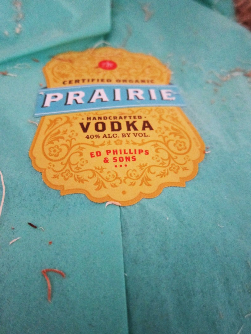 prairie organic vodka packaging