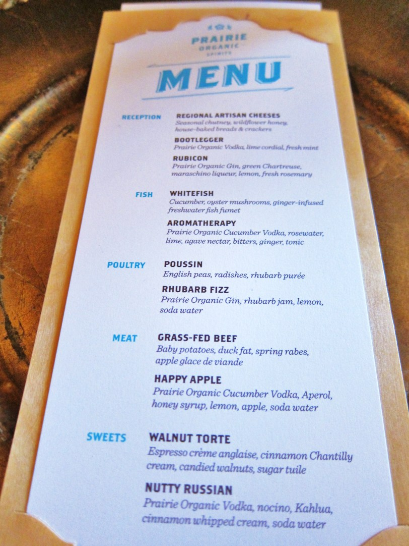 Heartland menu