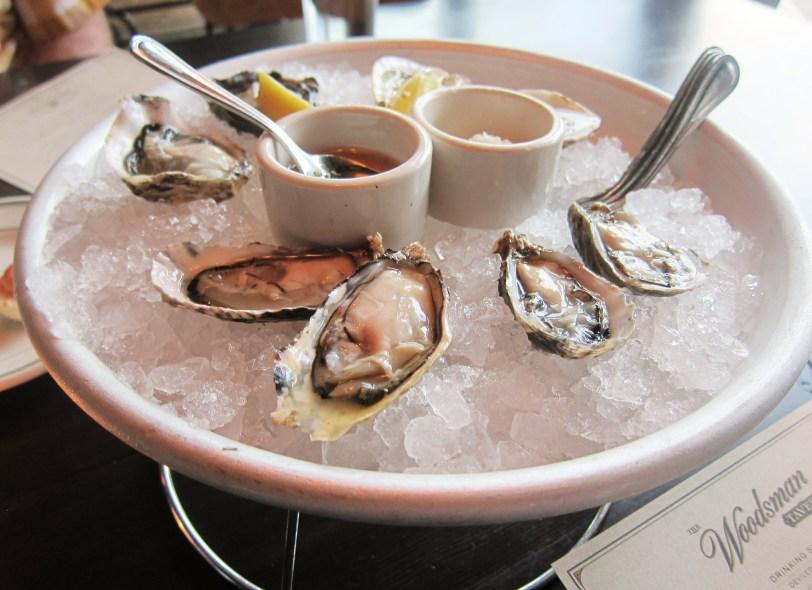 Woodsman Tavern oysters